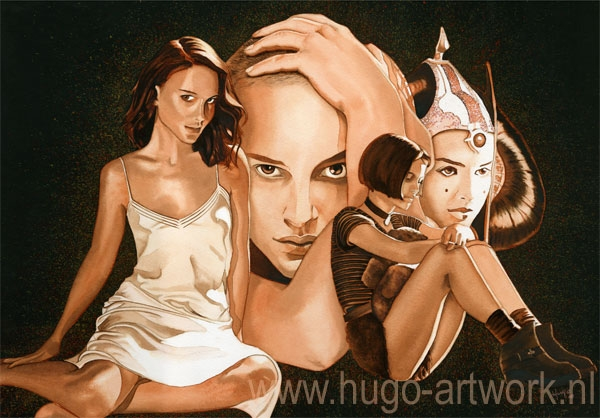 Natalie Portman por HugoBaur